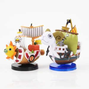 Figurine One Piece, Navire Vogue Merry & Thousand Sunny, manga