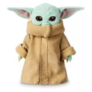 "Star Wars Mandalorian - Peluche Baby Yoda ""The Child"", Série Disney"