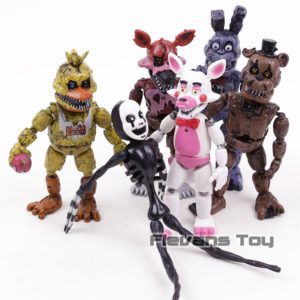 FNAF Five nights at Freddy's - Chica Bonnie Funtime Foxy Figurine PVC