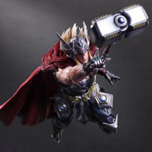 Figurine Thor, Play Arts Kai, Marvel, MCU