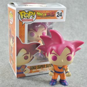 Figurine Dragon Ball Z – Goku Super Saiyan Funko Pop #24 en vinyle. Manga