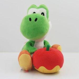 Nintendo – Peluche Yohsi avec pomme de 15cm Jeu vidéo