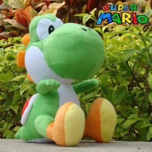 Nintendo - Peluche Yoshi - Super Mario Jeu Vidéo