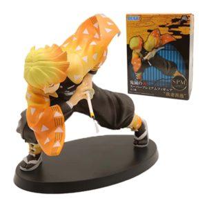 Figurine Demon Slaye : Zenitsu Agatsumar Manga Kimetsu No Yaiba